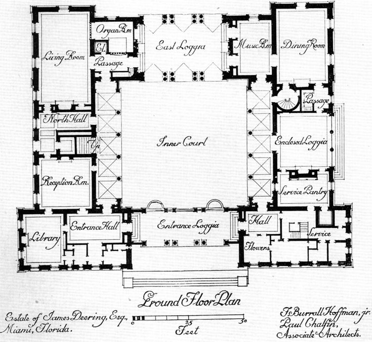 Central courtyard house plans find house plans house Old world house plans courtyard