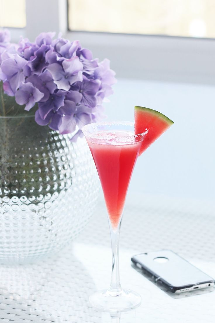 Friday Cocktail Recipe: Watermelon