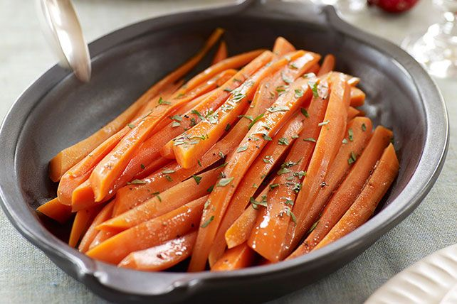 Balsamic-Glazed Carrots
