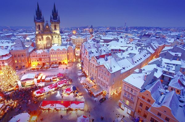Prague Christmas http://www.tourismontheedge.com/best-of/9-vibrant-christmas-holiday-destinations-in-europe.html