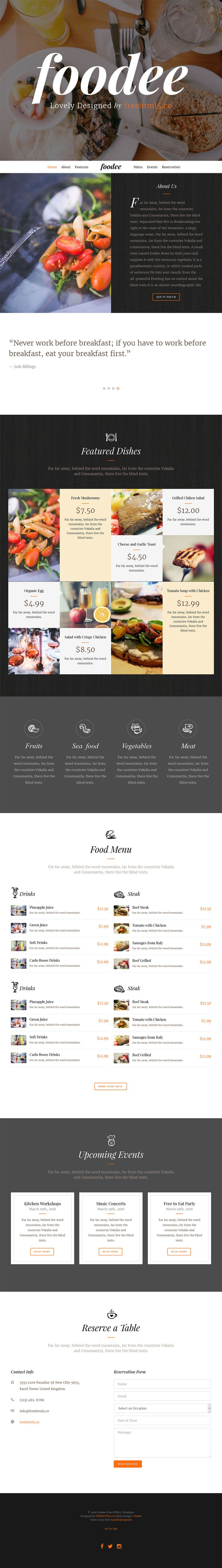 54 best HTML Template Free images on Pinterest | Free html ...