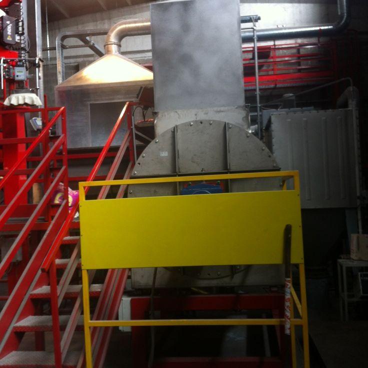 impianto Sali mine, utilizzati nelle fonderie di alluminiorali dalla pressatura, granulazione e miscelazione