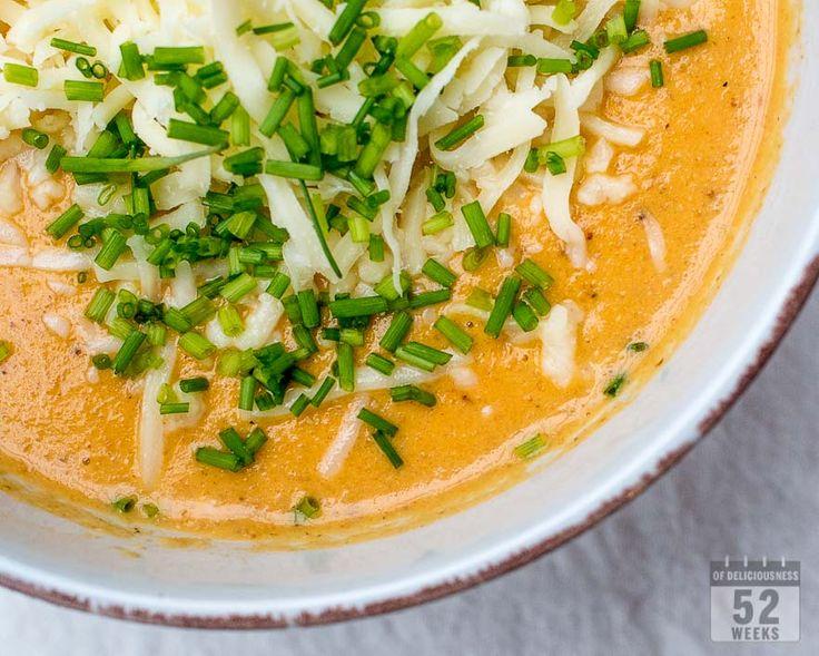 Paahdettu kukkakaali-currykeitto