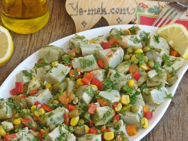 Enginar Salatası Resmi