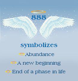 Number 888 symbolism