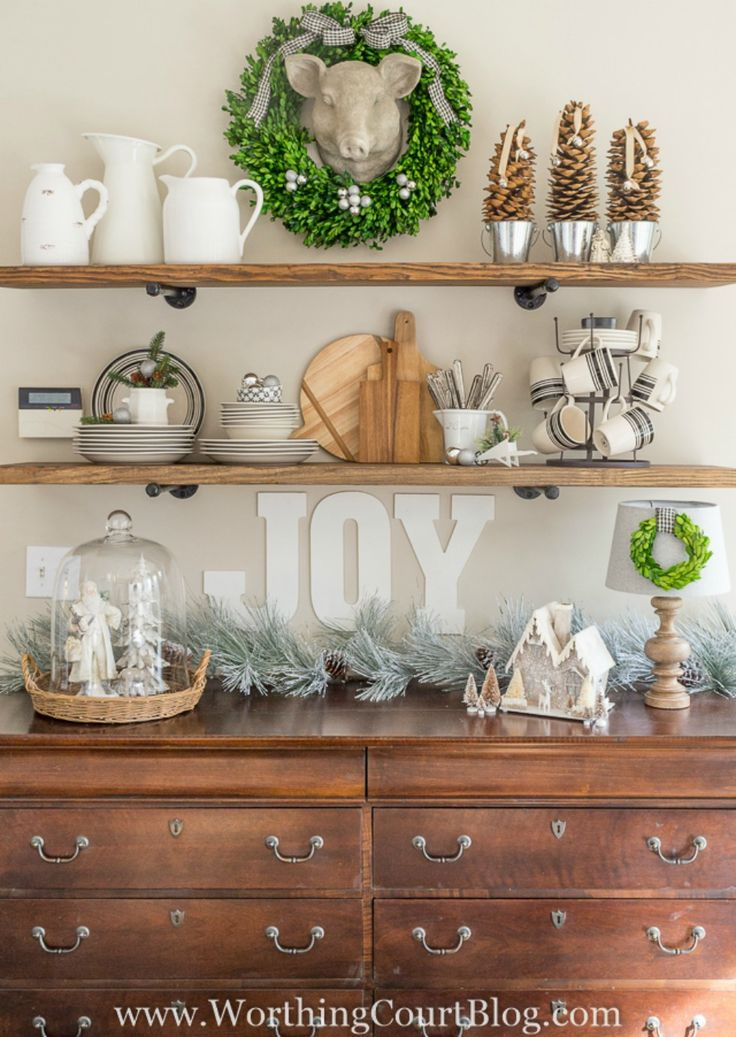 30 Ways To Create A Trendy Industrial Dining Room: 1000+ Ideas About Farmhouse Shelving On Pinterest