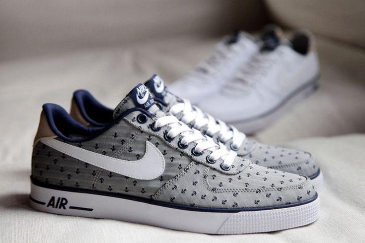"#Nike Air Force 1 AC PRM QS Spring 2014 ""Navy"" Pack #sneakers"