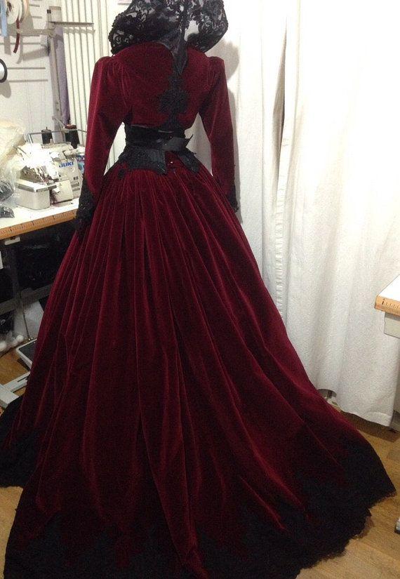 CUSTOM handmade dress от Videnoir на Etsy