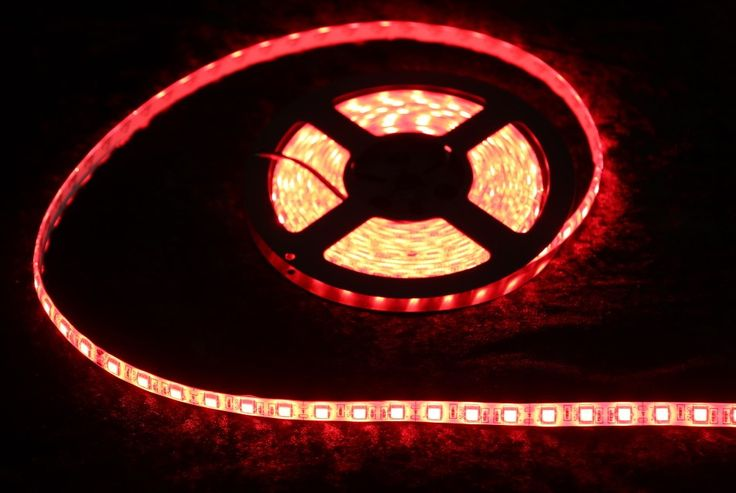 Strip Lighting LED Red SMD5050 IP65 5M Roll 14.4w/m 60 LEDs/m A$32.45 www.ecoindustrialsupplies.com