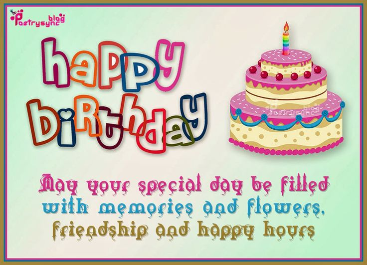 20 best images about Birthday – Birthday Greetings Wishes Messages