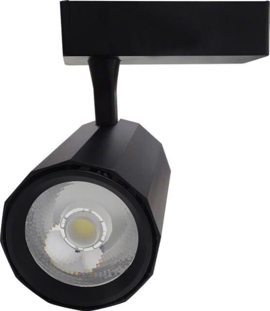 Cu noul SPOT LED MAGAZIN 30W, ai mobilitate si libertate la cote maxime. Acesta poate fi reglat in directia dorita si oricand ii puteti modifica pozitia pe sina speciala pe care este montat.