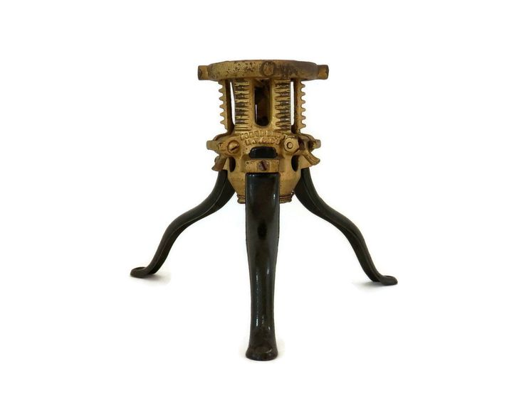 Victorian Christmas Tree Stand by North Brothers Manufacturing Company (North Bros. Mfg. Co