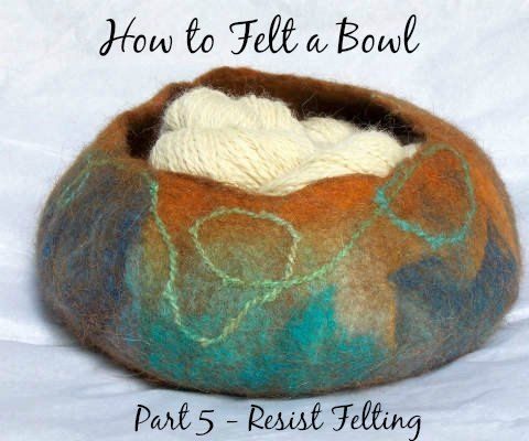 Part 5 of my Felting Techniques Series …Resist Felting! How to Wet Felt a Vessel or BowlA FiberArtsy.com TutorialDid you see the other Felting Techniques in...