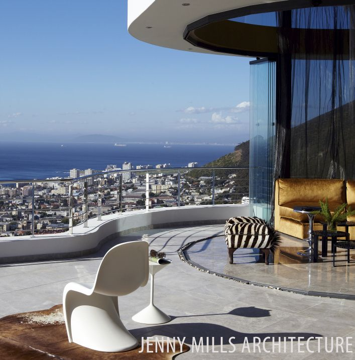 view, Atlantic seaboard, flow from inside to outside, architecture, design