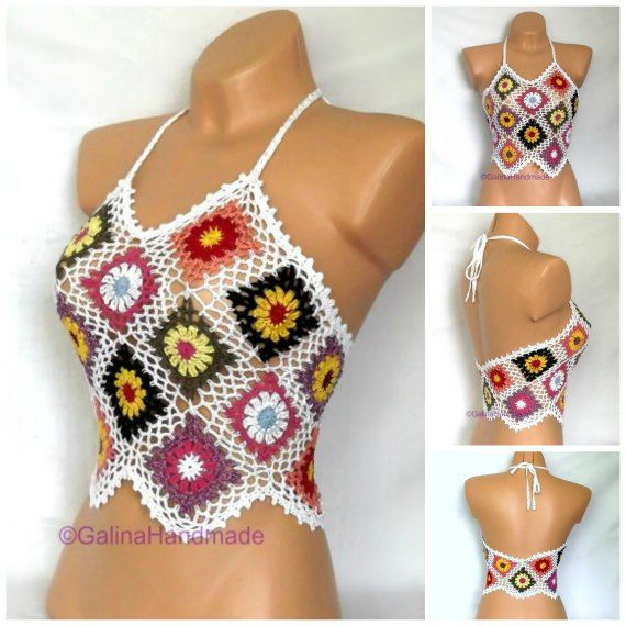 Hey, I found this really awesome Etsy listing at https://www.etsy.com/listing/294584435/summer-crochet-top-halter-top-tank-top