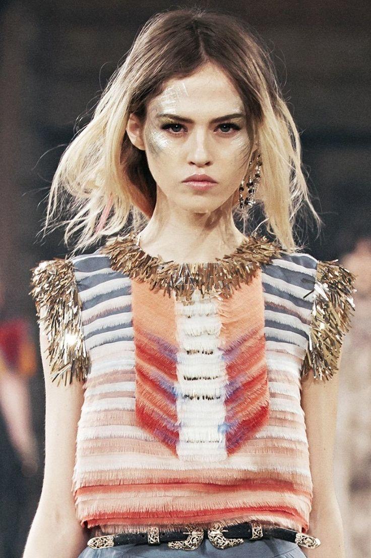 "myselfinwonderland: ""Charlotte Free - Chanel - Pre-Fall 2014 """