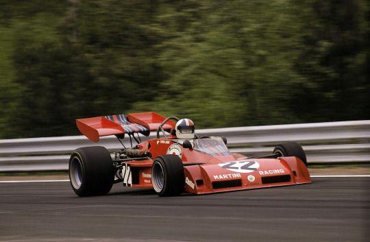 Chris Amon (Tecno) Grand Prix de Belgique - Zolder 1973