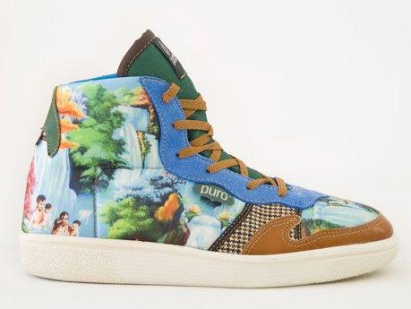Zapatillas PURO de inspiración playera