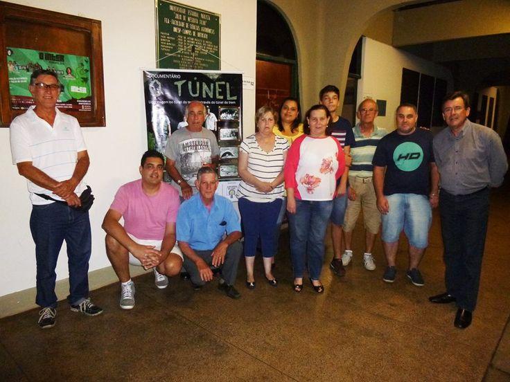 """Museu do Café comemora 65 anos da inauguração dos túneis ferroviários. - No último dia 10 o Museu do Café, por meio do projeto """"Lageado é Arte"""", deu inicio as comemorações dos 65 anos de inauguração dos dois túneis, e do novo traçado da Sorocabana. Em parceria com o """"Museu do Ferroviário"""", no dia 10 às 20 horas no Anfiteatro I na Central de Salas de Aula foi exibido o d - http://acontecebotucatu.com.br/cultura/museu-do-cafe-comemora-65-anos-da-inaugura"""