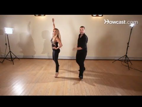 How to Dance Salsa: Salsa Steps / Hook Styled   Oh Yeah, I can dance and eat it too. Love it.