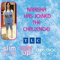 Nariska has joined the Challenge! www.tlcforwellbeing.com