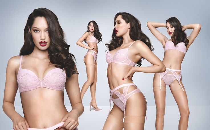 Spring colours we've missed you! Photographed: Lovely Essence push-up bra