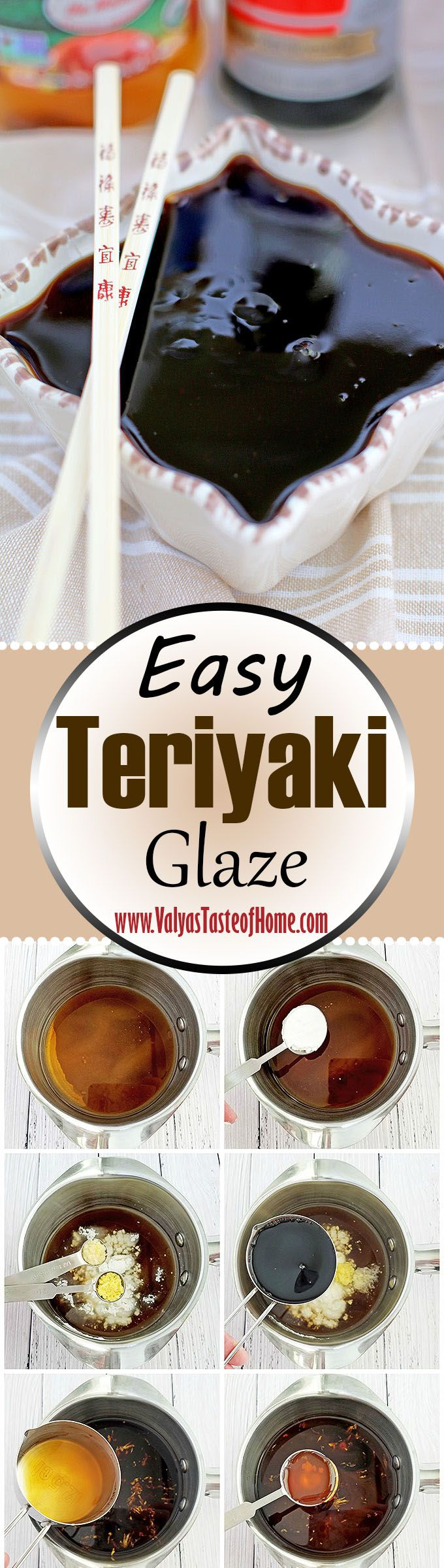 This tasty glaze is prepared in a much cleaner way, without additional chemicals, tastes fresh and delicious. It's so easy to prepare and makes any meat of your choice delicious, zesty, so tender and tasty that you would not believe. The glaze is aromatic, sharp but sweet, incredibly smooth, and best of all - simple. | www.valyastasteofhome.com