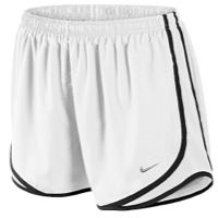 Nike Tempo Shorts - Women's - White / Black