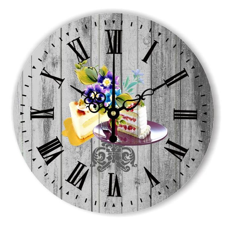 Home Decoration Big Size Wall Clock Modern Design Pastoral Style Decorative Wall Clock For Dining Hall Living Room Decoration