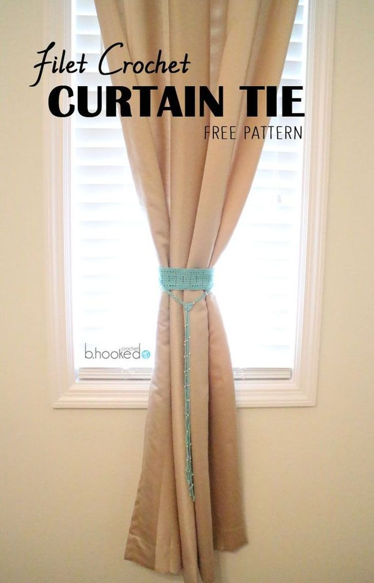 17 Best Ideas About Curtain Ties On Pinterest Girls Room