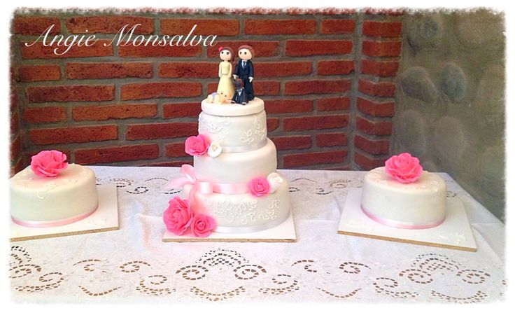 Torta boda sabor pompadour