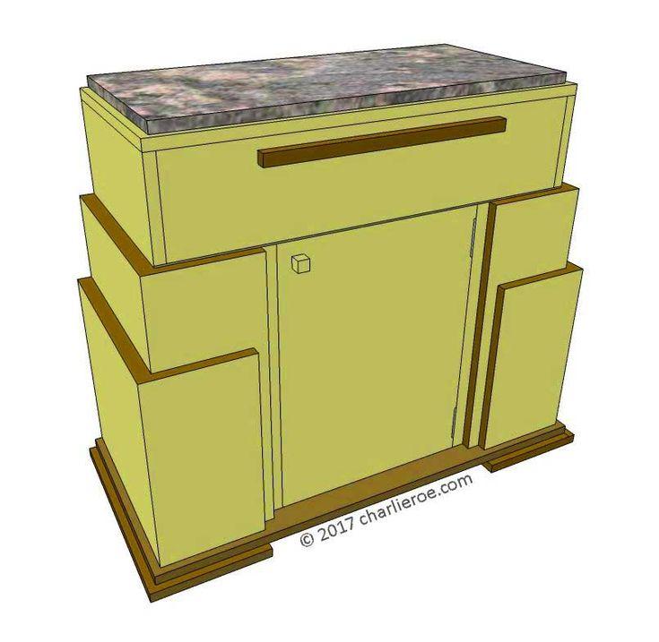 46 best Art Deco - Cabinets / furniture images on Pinterest ...