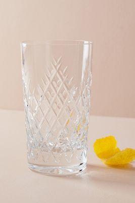 Soho Home Barwell Cut Crystal Highball Glass | Anthropologie