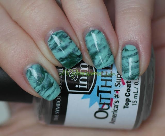 Mielenmaisemia - Green marble