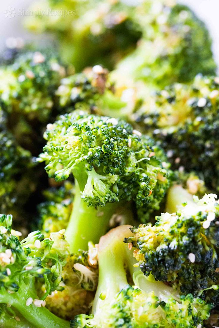 Quick and easy broccoli stir fry with ginger and sesame, takes less than 30 minutes to make, start to finish! #paleo #vegan #glutenfree #LowCarb On SimplyRecipes.com