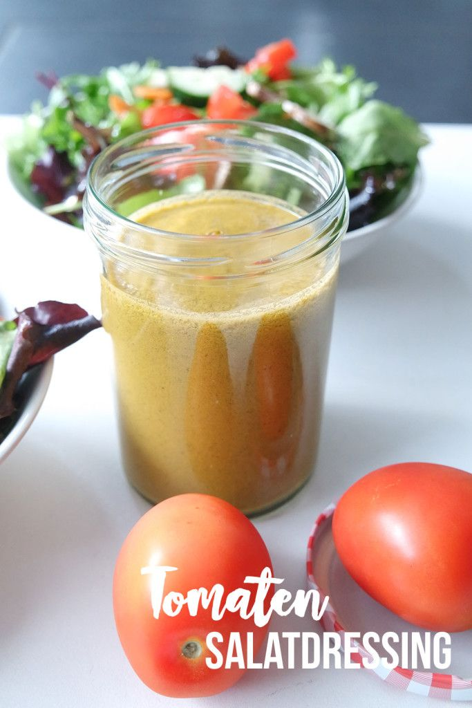 tomaten salatdressing gesund clean eating rezept blog