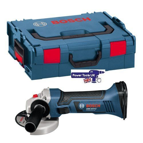 125mm Bosch GWS18V-125V LINCG Angle Grinders from Power Tools UK