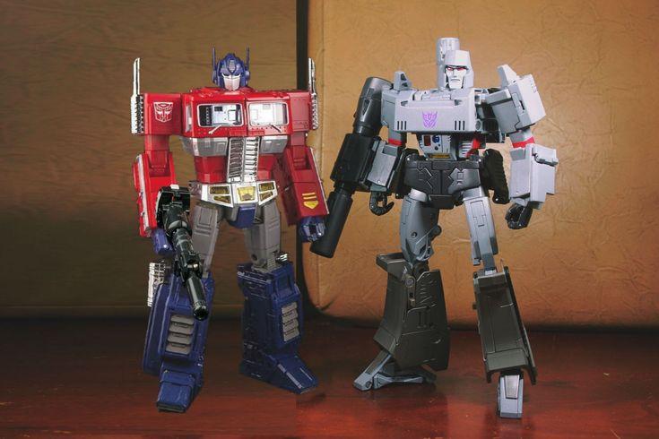 Transformers Masterpiece MP-10 Convoy (Optimus Prime) and MP-36 Megatron