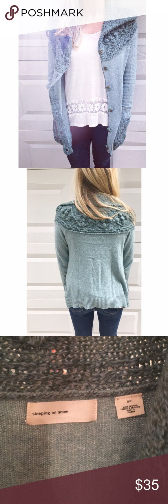 Anthropologie cardigan Anthropologie brand Sleeping on Snow. EUC. Warm, and soft. Anthropologie Sweaters Cardigans