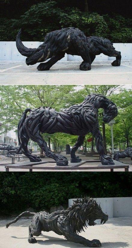 Best Sculpture Images On Pinterest Sculptures Art Sculptures - 26 creative sculptures statues around world