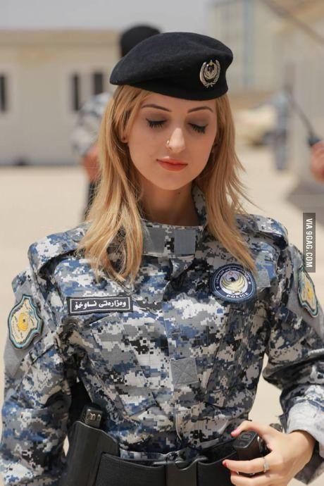 ISIS worst nightmare. Kurdish female fighter.