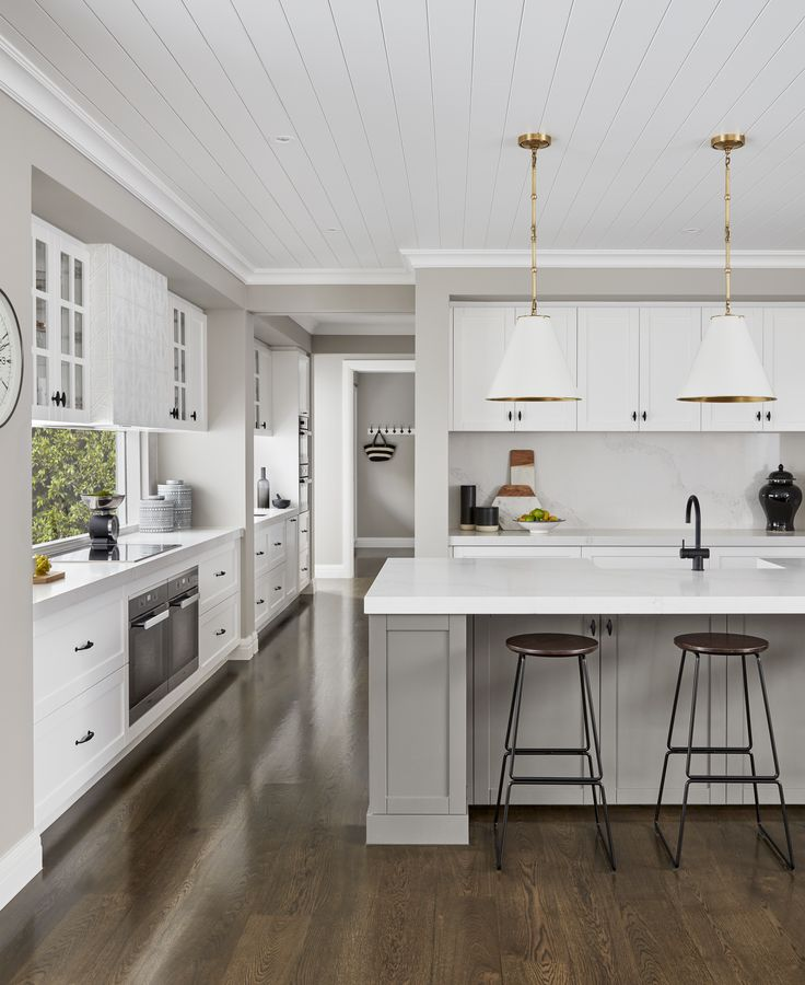 the stunning kitchen at our Bayville in Brighton