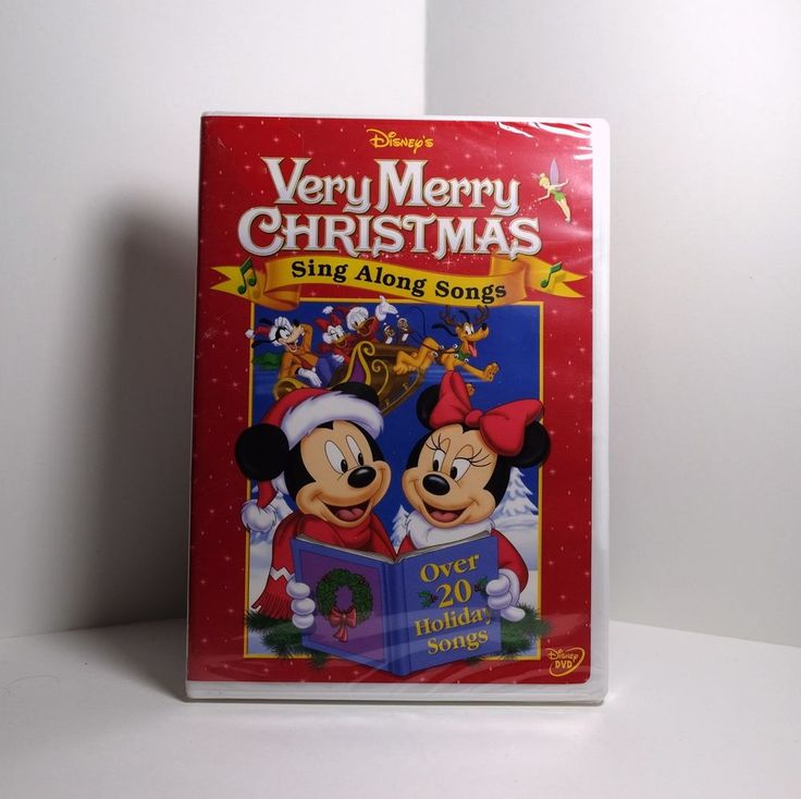 Sing-Along Songs: Very Merry Christmas Songs (DVD, 2006) Disney Mickey! New! #mickeymouse #disney #singalong #disneysingalongs #merrychristmas #christmas #christmassongs #happyholidays #holidays