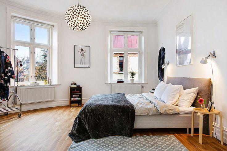 my scandinavian home: A monochrome Gothenburg apartment