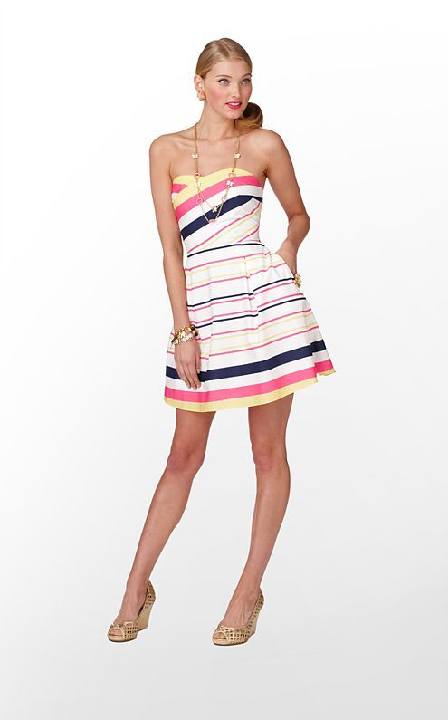bright stripes: Summer Dresses, Lilly Pulitzer, Felicity Dresses, Style, Pulitzer Dresses, So Cute, Cute Dresses, Lilies Pulitzer, Stripes
