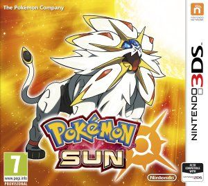 Pokemon Sun game cover. Can't wait till November 18, 2016.