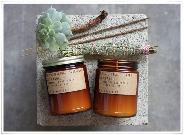 E-boutique lovecreativepeople.com | Bougie à la cire de soja P.F. Candles Co.