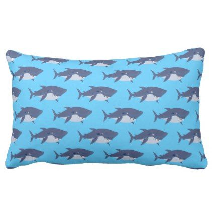 Sharks Pillow   Blue Gifts Style Giftidea Diy Cyo