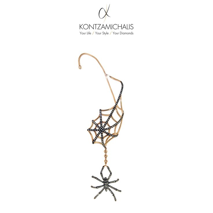 This earring is a fashion statement by itself. Soon enough it will proud member of our animalier collection. http://kontzamichalis.com/animalier/ #KontzamichalisJewellery