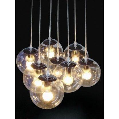 Glass Cluster Pendant Lights   Modern Furniture Melbourne, Sydney, Brisbane, Adelaide & Perth